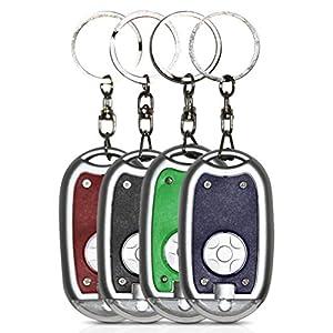 10 x Schlüsselanhänger Taschenlampe Vorm 6cm