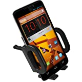 High Quality Air Vent for ZTE Boost Max Cushioned / Flexible Cradle Car Mount Holder (use with skin or hard case protector)