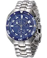 Sector Ocean Master Chrono Watch with Blue Dial and Solid Stainless Steel Bracelet