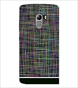 PRINTSWAG LINES PATTERN Designer Back Cover Case for LENNOVO VIBE K4 NOTE