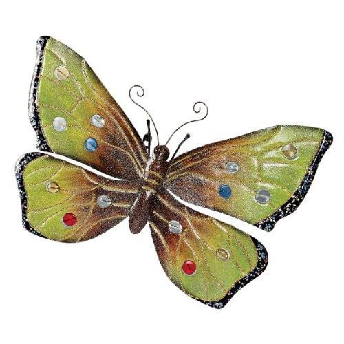 MH13381 Übergroßer Schmetterling Metall Wandskulptur