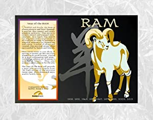 Amazon.com: Asian Oriental Chinese Zodiac Poster Year of