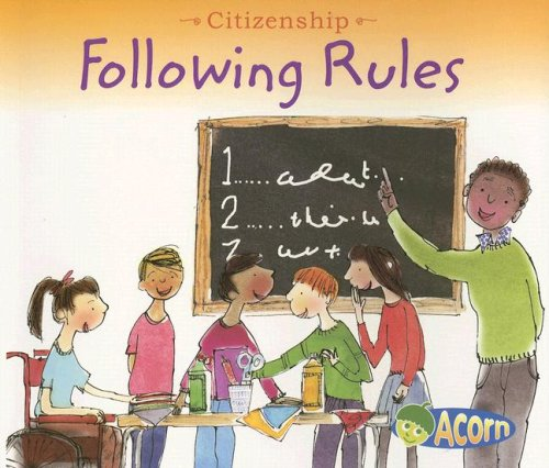 Kids following rules following rules citizenship