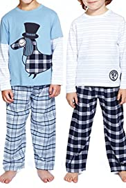 2 Pack Autograph Supersoft Pure Cotton Dog Pyjamas [T86-3518A-S]