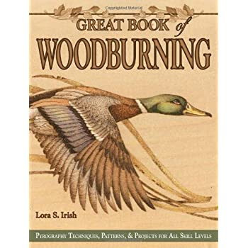 Set A Shopping Price Drop Alert For Great Book of Woodburning: Pyrography Techniques, Patterns & Projects for All Skill Levels