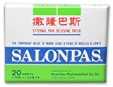 Salonpas Salonpas Pain Relief Patch, 20 ct