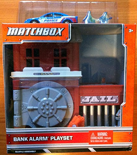 Matchbox Bank Alarm Adventure Playset
