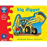 Orchard Toys Big Digger Jigsaw, Multi Color