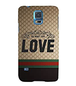 Do Want You Love Cute Fashion 3D Hard Polycarbonate Designer Back Case Cover for Samsung Galaxy S5 Neo :: Samsung Galaxy S5 Neo G903F :: Samsung Galaxy S5 Neo G903W