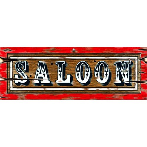 Saloon Sign Party Accessory (1 count)