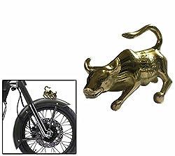 Speedwav Brass Big Bull Front Fender Decorative-Royal Enfield-U