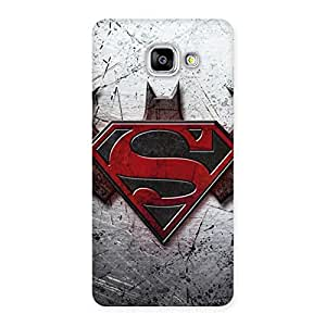 Ajay Enterprises Super vs Awesome Batx Back Case Cover for Galaxy A5 2016