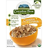 Cascadian Farm Organic Cereal, Cinnamon Crunch,9.2 Oz.