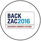 Zac Goldsmith - London Mayoral Election Keyring Bottle Opener (58mm Diameter)