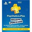 PlayStation Plus Card: Sottoscrizione 365 Giorni