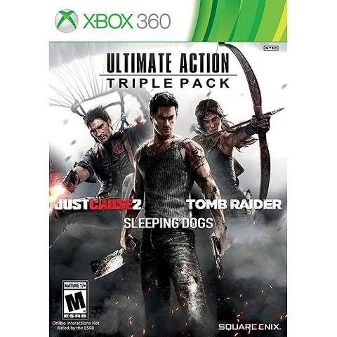 Square Enix 91619 Ultimate Action Triple Pack X360 (Square Enix Inc compare prices)