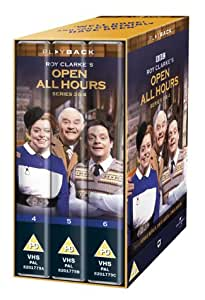 Open All Hours: Series 3 And 4 (Box Set) [VHS] [1976]
