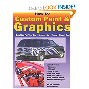 How to car graphics paint