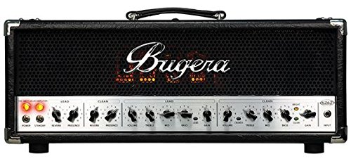 Bugera 6262 120-Watt 2-Channel Valve Amplifier Head With Reverb