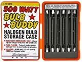 Designers Edge L-15 Work Light Replacement T-3 Bulbs with Hard Case, 500-Watt, 6-Pack
