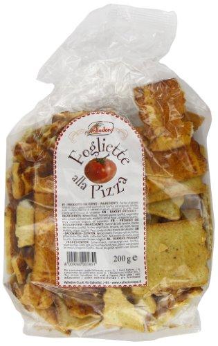 Valledora Fogliette Alla Pizza Breadsticks 200 g (Pack of 4)