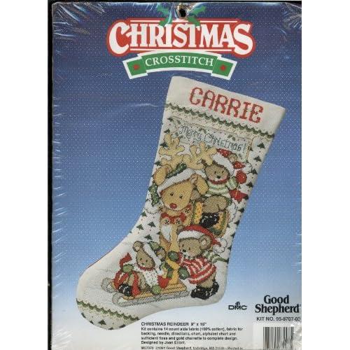 Amazon.com: Good Shepherd - Counted Cross Stitch Kit - Christmas