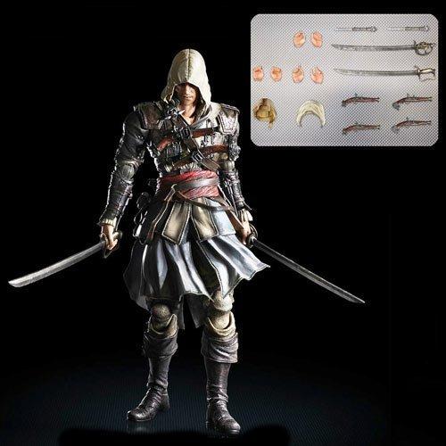Square Enix Play Arts Kai Edward Kenway Assassin's Creed Action Figure