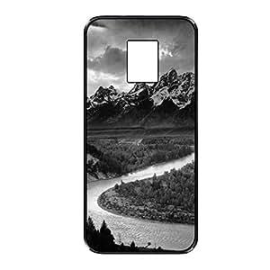 Vibhar printed case back cover for Samsung Galaxy S5 BlackRiver