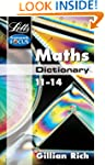 Maths Dictionary Age 11-14 (Letts Key...