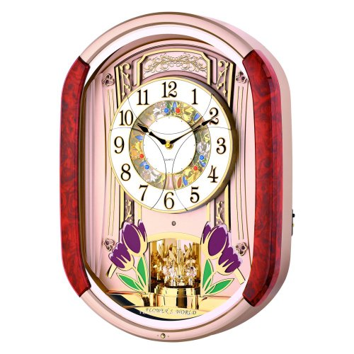 Control Brand Tulip Melodies in Motion Wall Clock