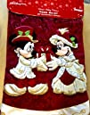 Disney Park Mickey Minnie Mouse Victorian Christmas Holiday