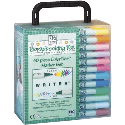 EK Success Writer Dual Marker Set, 48/Pkg