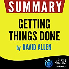 Summary: Getting Things Done Audiobook by  Book Summary Narrated by Kelly Rhodes