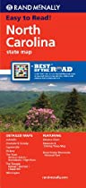 Rand McNally North Carolina State Map (Rand McNally State Maps)