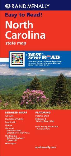 **Carolina North (Rand McNally State Maps)