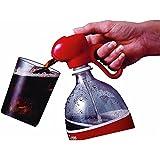Cap Fountain Keeper Machine Soda Dispenser for 2 Liter Coke Bottle (Red)