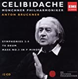 Bruckner: Symphonies 3-9, Te Deum, Mass in F Minor