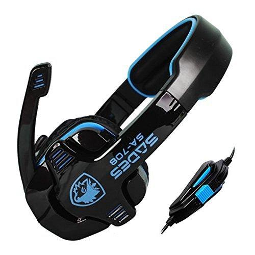 SADES SA-708 Stereo Gaming Headphone Headset with Microphone
