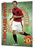 GB eye Ltd, A3 3d Poster, Manchester United FC, Owen 09/10, (29.7x 42cm)