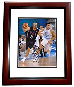 Jason Kidd Autographed Hand Signed Dallas Mavericks 8x10 Team USA Photo - MAHOGANY... by Real Deal Memorabilia