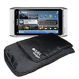 Velcro Pocket Design Water Resistant Case For Nokia Lumia 625, Nokia Lumia 710, Nokia 3720 Classic, N8, 6303i, 2720 Fold & 1616, By DURAGADGET