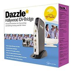 Dazzle Hollywood Dv Bridge Mac Firewire Digital-analog Converter