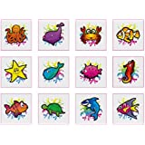 Sealife Tattoos - 12 pack