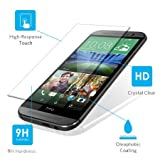 Clear Glass Tempered Drop-proof Screen Protector for HTC One M8 Verizon, At&t, Sprint, T-mobile