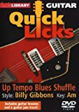 Lick Library: Quick Licks - Billy Gibbons Up-Tempo Blues [DVD]