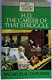img - for H.D.: The Career of That Struggle (Key Women Writers) book / textbook / text book
