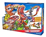 Mattel Great Hot Wheels T-Rex Takedown Playset - Sparks Great Imaginative Play - Made In China Toy / Game / Play / Child / Kid