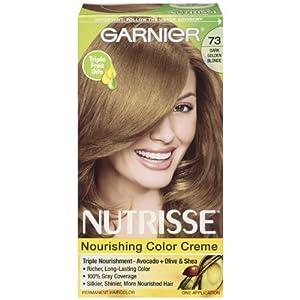 Amazon.com : Garnier Nutrisse Nourishing Color Crème, 73 ...