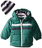 London Fog Baby Boys' Classic Bubble Jacket, Green, 24 Months Size: 24 Months Color: Green, Model: L215614, Newborn & Baby Supply