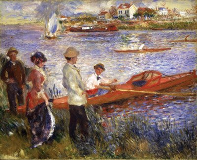 Renoir Oarsmen at Chatou Wooden Jigsaw Puzzle